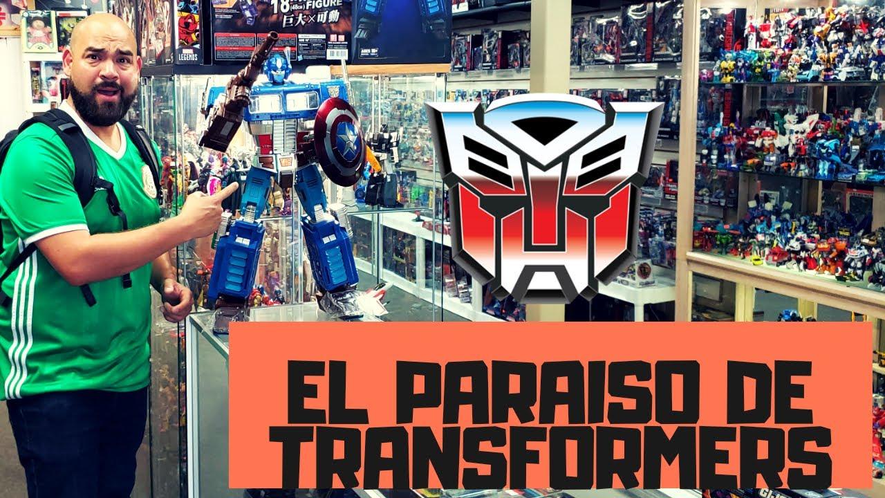 DESCUBRI EL PARAISO DE TRANSFORMERS G1 G2 MASTERPIECE DRAGON BALL Y MAS JUGUETES VINTAGE Y NUEVOS