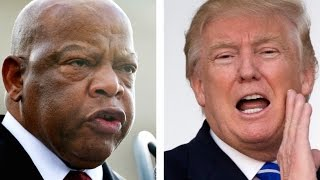 Repeat youtube video Why Trump Assumes John Lewis's District Is