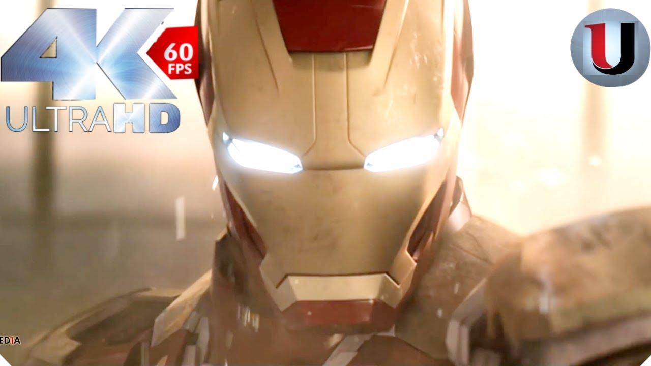 Iron Man 3: Malibu Mansion Attack - 2013 MOVIE CLIP (4K HD)