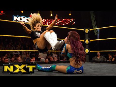 NXT Women's Champion Charlotte & Natalya vs. Sasha Banks & Becky Lynch: WWE NXT, Jan. 14, 2015