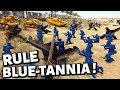 RULE BLUE-TANNIA ! Blue Army Men Beach Landing ! A.M.O.W