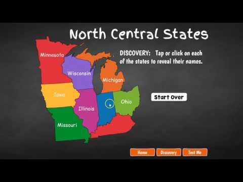 North Central United States Geography