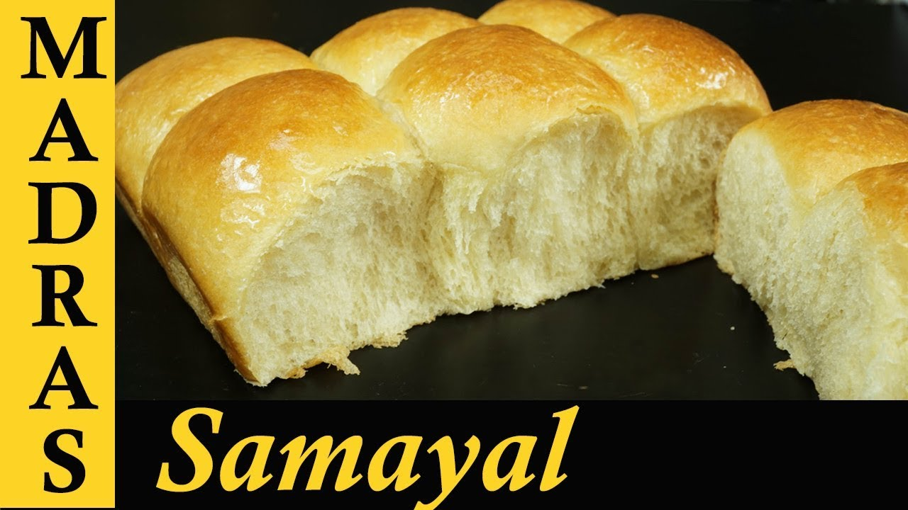 Cake Recipes In Madras Samayal: How To Make Buns Without Oven