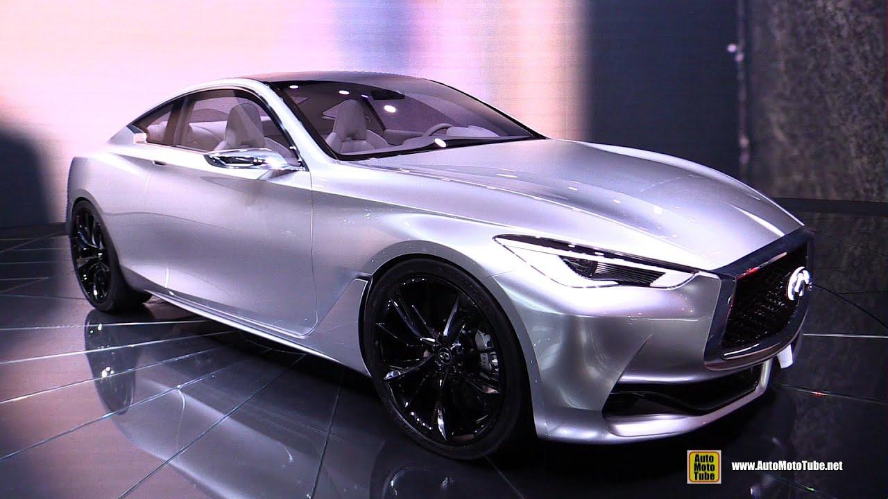 Infiniti Q Concept Exterior Walkaround Detroit Auto Show - Infiniti car show