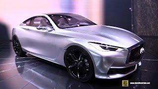 Infiniti Q60 Concept - Exterior Walkaround - 2015 Detroit Auto Show