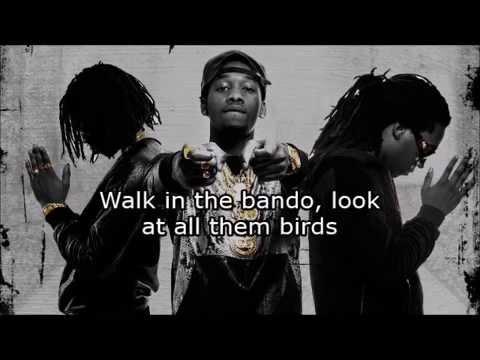 Migos Birds (Clean Version w/ lyrics)