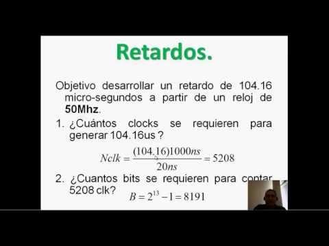 Circuitos logicos para generar retardos en Verilog - Hackeando Tec