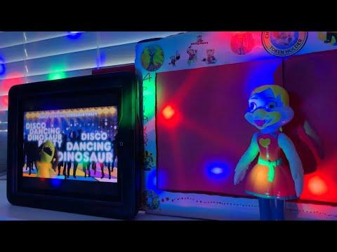 Chuck E Cheese Show 1 2020 Disco Dancing Dinosaur Party