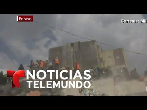 Noticias Telemundo, 19 de septiembre de 2017 | Noticiero | Noticias Telemundo