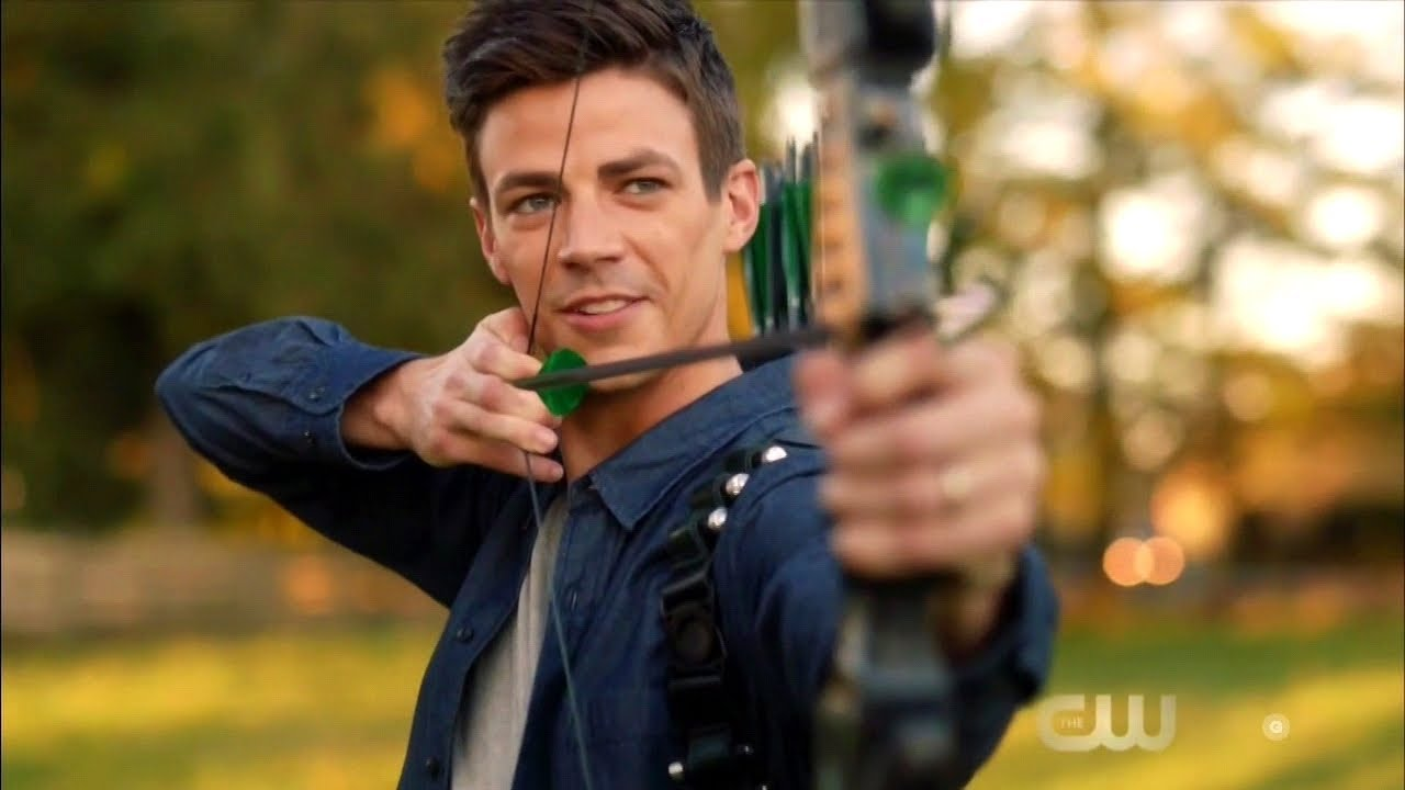 Download DCTV Elseworlds Crossover Part 1 Barry shoots Oliver with Arrows Scene (HD)