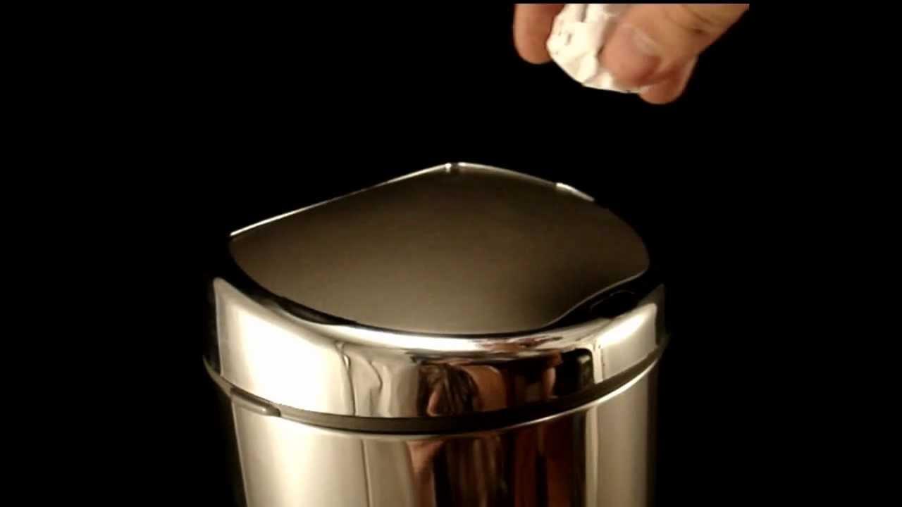 Cesto de basura automatico home matic youtube for Como cocinar alubias de bote