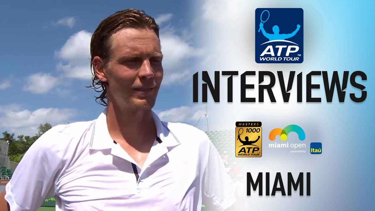 Berdych Discusses Opening Victory In Miami 2018