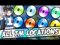 ALL TM LOCATIONS IN POKEMON SUN AND MOON – How and Where to get ALL TMs in Pokémon Sun and Moon
