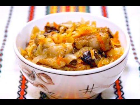 Очень вкусный Бигус с капустой, картошкой и мясом! #рецепт #Бигус #картошкасмясом