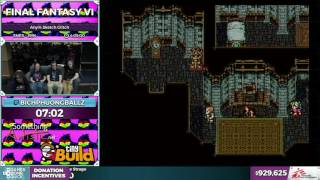 Final Fantasy VI by bichphuongballz in 3:55:54 - SGDQ2016 - Part 172