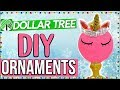 4 DOLLAR TREE DIY HOLIDAY ORNAMENTS YOU MUST TRY!! DOLLAR STORE ORNAMENT IDEAS FOR CHRISTMAS 2017