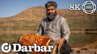 World's First VR360 Mridangam Solo | P.S. Phalgun | Carnatic Rhythm | Darbar VR360