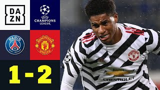 Rashford ärgert den Champions League Finalisten: PSG - Man United 1:2 | UEFA Champions League
