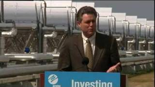 Audubon Of Florida - Eric Draper Speaks At Solar Plant Opening
