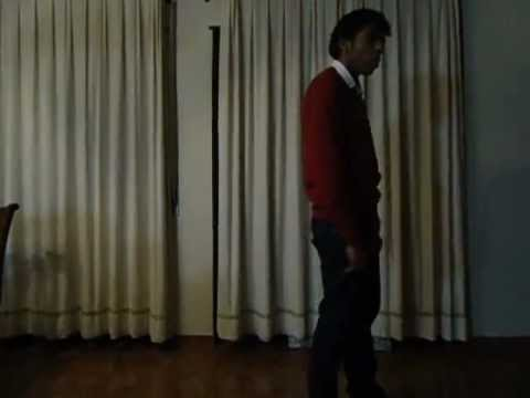 """Dancing Michael Jackson's song """"Stranger in Moscow"""" Instrumental"""