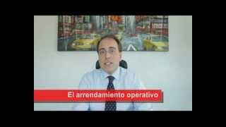 Conversaciones con CSI: el arrendamiento operativo