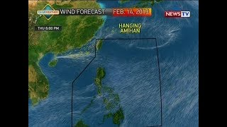 BP: Weather update as of 4:19 p.m. (February 13, 2019)