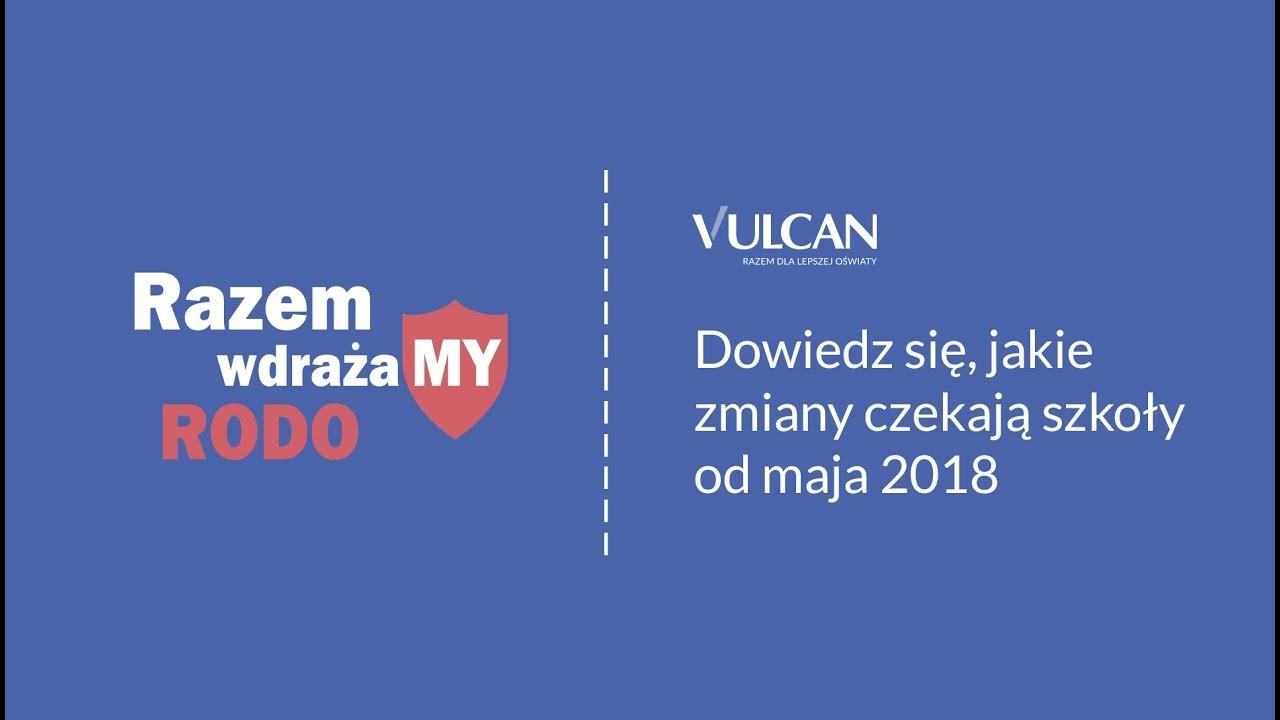 8cbf456eddff8b Razem wdrażamy RODO - Vulcan.edu.pl