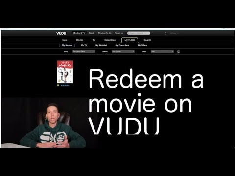 how to redeem a digital movie code on vudu youtube. Black Bedroom Furniture Sets. Home Design Ideas