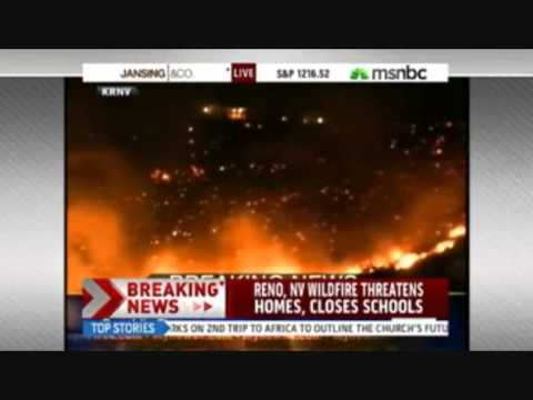 DEGS WEB: Nevada Declares Emergency Over Wildfire!!!
