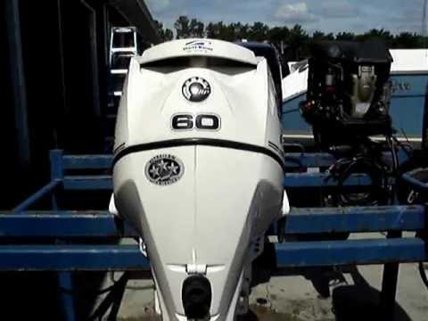 60 hp evinrude outboard youtube for 60 hp yamaha outboard specs