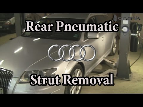 Audi A6/C6/4F Rear Air / Pneumatic Spring Change