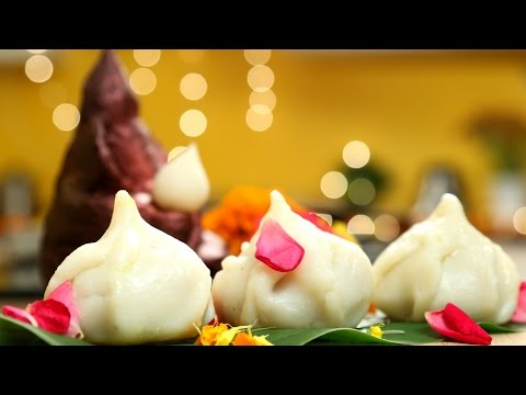 Steamed Modak Recipe | 3 Different Fillings - Ganesh Chaturthi Special | The Bombay Chef