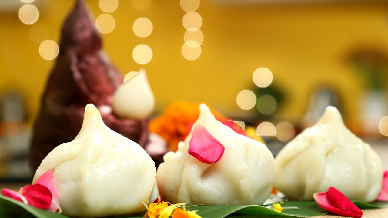 Download Steamed Modak Recipe | 3 Different Fillings | Ganesh Chaturthi Special | Ukdiche Modak | Varun