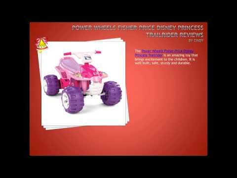 Power Wheels Fisher Price Disney Princess Trailrider Review