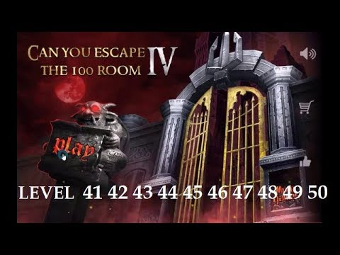 Can You Escape The 100 Room 4 Level 41 42 43 44 45 46 47