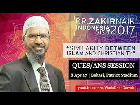 Dr. Zakir Naik Indonesia Visit 2017 || Full Q&A Session (8th April 17)