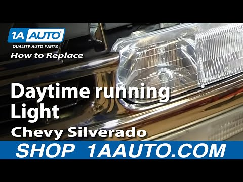[TVPR_3874]  How to Replace Running Light Bulb Socket 01-06 Chevy Silverado - YouTube | 04 Yukon Front Running Lights Wiring Diagram |  | YouTube