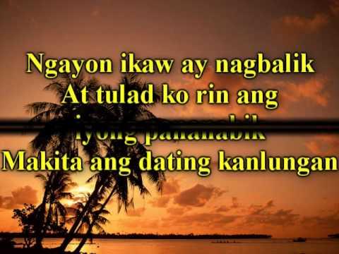 Pagdating ng panahon karaoke mp3 with lyrics