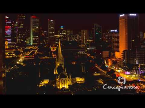 Singapore Timelapse: The Church and The City