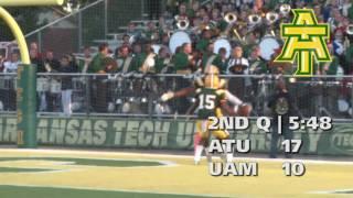 Tech Football vs. Arkansas-Monticello Highlights 9/17/16