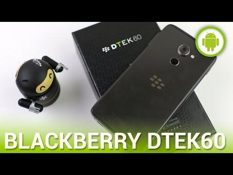 BlackBerry DTEK60, recensione in italiano