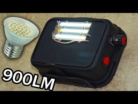 видео: Сделай сам | Регулируемый Мини Прожектор 9Вт 900лм