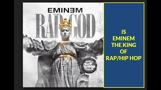 """""""Eminem sold the most albums of any artist in 2018"""" Is He King Of Rap?"""