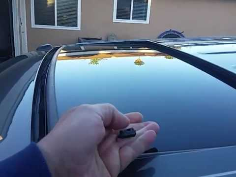 Ford F150 Sunroof Moonroof Will Not Close All The Way