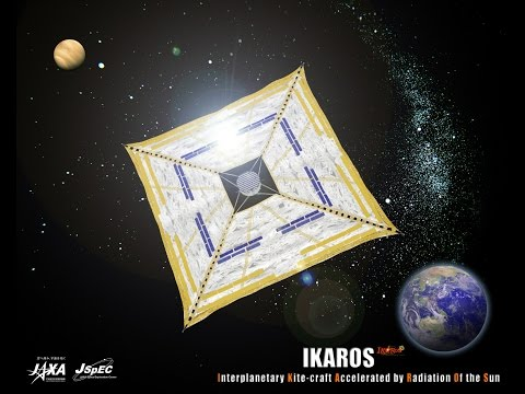 "World's first Solar Sail ""IKAROS"" (Part 1)"