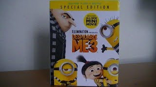 Despicable Me 3 Blu-Ray/DVD Combo Pack - Unboxing! streaming