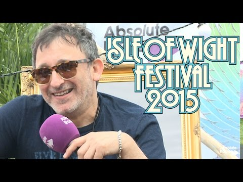 Ian Broudie (Lightning Seeds) Talks TFI Friday  | Isle of Wight Fest 2015