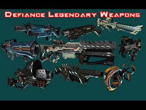Defiance - How To Mod Your Weapons - Commentary/gameplay