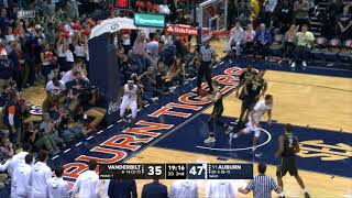 Auburn Men's Basketball vs Vanderbilt Highlights