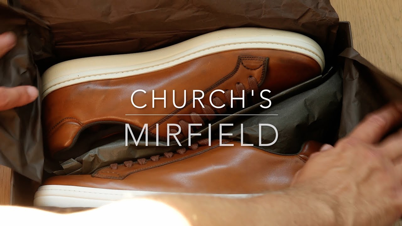 Church's Mirfield Sneakers - YouTube